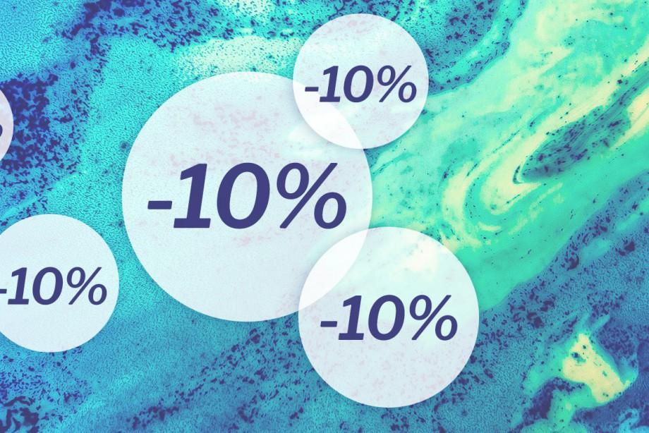 10 % KEDVEZMÉNY MINDEN SZÓLÓ TERMÉKRE!